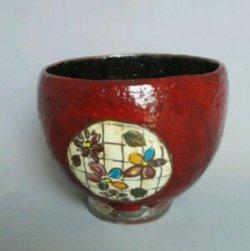 画像1: プラチナ高台丸鉢