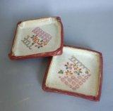 角皿(千代紙)